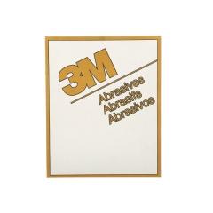 3M 2548 Gold P100 Sandpaper Sheet - 9 in. x 11 in.