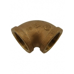 ACR Industries 44-107 Bronze Pipe Elbow Fitting, 90 Degree - 1-1/2 inch