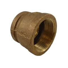 ACR Industries 44-446 Bronze Reducer/Adapter Coupler - 1-1/4 inch x 1 inch