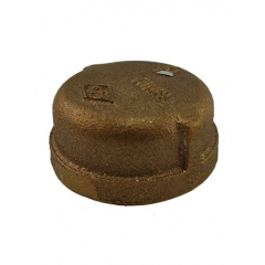 ACR Industries 44-476 Bronze Pipe Cap Fitting - 1-1/4 inch