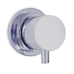Ambassador Marine 136-1706-CP Aidack Compact Hot and Cold Shower Mixer/Shut-off valve with Chrome Finish