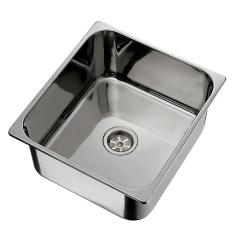 Ambassador Marine S44-1831-UM Stainless Steel Rectangular Sink for 2 inch Drains, Ultra-Mirror Finish