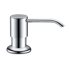 Ambassador 130-0011-CP Universal Counter Mount Soap Dispenser with Chrome Finish