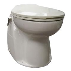 Raritan AVHWR01202 Atlantes Toilet, 12V - Raw Water with Momentary Handle Control