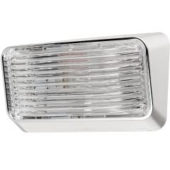 Bargman 30-78-600 RV Porch Utility Light with Chrome Base - Incandescent