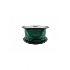 14 AWG Green Primary Marine Wire 100 Foot Roll   Cobra A1014T-03-100