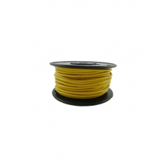 14 AWG Yellow Primary Marine Wire 100 Foot Roll   Cobra 91093001