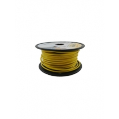16 AWG Yellow Primary Marine Wire 100 Foot Roll | Cobra 91115001