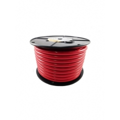 1/0 AWG Red Marine Battery Cable 100 Foot Roll | Cobra A2110T-01-100