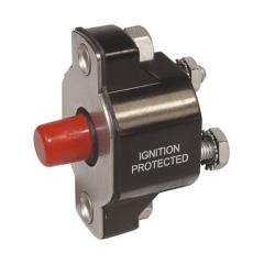 Medium Duty Push Button Reset Only Circuit Breaker - 20A