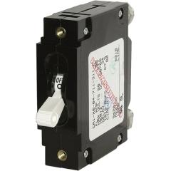 C-Series White Toggle Circuit Breaker - Single Pole 80 Amp