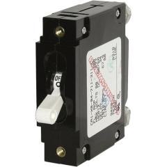 C-Series White Toggle Circuit Breaker - Single Pole 30 Amp