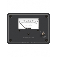 DC Analog Voltmeter Panel