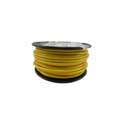 12 AWG Yellow Primary Marine Wire 100 Foot Roll | Cobra A1012T-04-100