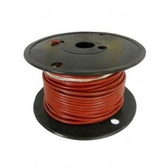 16 AWG Red Primary Marine Wire 100 Foot Roll | Cobra A1016T-01-100