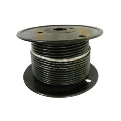 16 AWG Black Primary Marine Wire 100 Foot Roll | Cobra A1016T-07-100