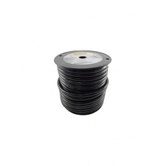 4 AWG Black Marine Battery Cable 100 Foot Roll | Cobra A2004T-07-100
