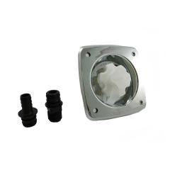 Jabsco 44412-2045 Chrome Color Water Pressure Regulator Inlet