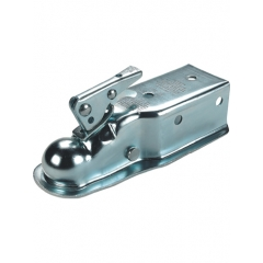 Stamped Straight Tongue Trailer Coupler