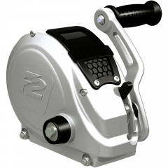 Fulton FW16000101 F2 Fully Enclosed Trailer Winch with Strap - 1600 lbs.