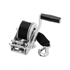 Winch 900 lbs. Single-Speed for Personal Watercraft w/12' Strap