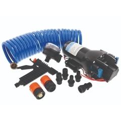 Jabsco Q401J-118N-4A HotShot HD4 Heavy Duty Washdown Pump - 12V - 4 GPM - 60 PSI Kit