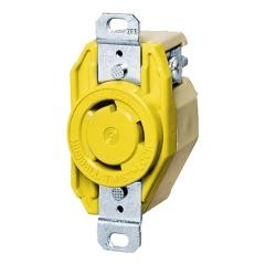 Hubbell HBL26CM10 30 Ampere 125 Volt Twist-Lock Receptacle