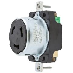Hubbell HBL63M69 50 Amp 125/250 Volt Single Receptacle