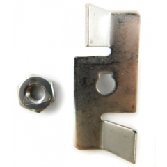 (14) Chopper Plate with Lock Nut