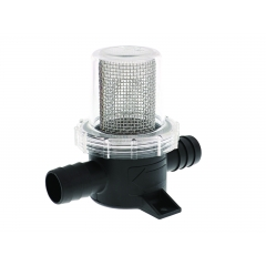 In-Line Pumpgard Strainer with 3/4 Inch Barbed Ports | Jabsco 36200-0000