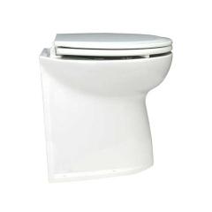 Jabsco 58240-2012 Deluxe Flush Toilet w/17 in. Vertical Back Bowl, 12V - Raw Water