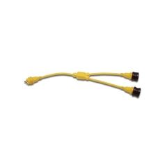 Y Adapter 2-30 Amp Locking To 30 Amp Locking