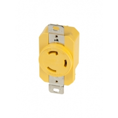 30A 125V Receptacle (Yellow)
