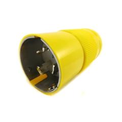 50 Amp 125/250 Volt Male Shore Cord Plug