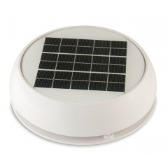White 4 Inch Day/Night Solar Vent   Marinco N20804W