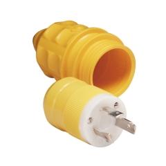 30A 125V Male Plug and Cover