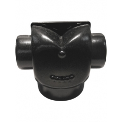 6 in. x 4 in. x 4 in. Hose T Air Divider