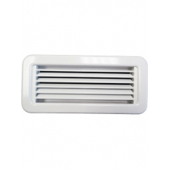 10 x 4 White Supply Air Grille