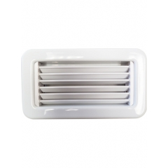 8 x 4 White Supply Air Grille