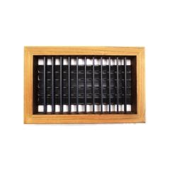 10 x 6 Teak 4 Way Supply Grille