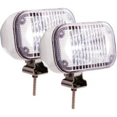 Optronics DLL50WC LED Single Lamp Docking Light - White Housing