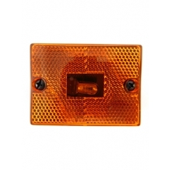 Clearance/Marker Light square, amber