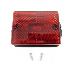 Clearance/Marker Light square, red