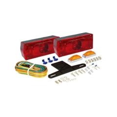 """Waterproof AERO PRO  Trailer Light Kit w/ side marker lights, over 80"""""""