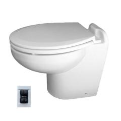 Raritan 220HF01201 Marine Elegance Toilet, 12V - Fresh Water w/Multifunction Control