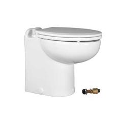 Raritan 231HR01202 Marine Elegance Toilet, 12V - Raw Water w/Push Button Control