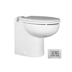 Raritan 231HR012 Marine Elegance Toilet, 12V - Raw Water w/STC Control