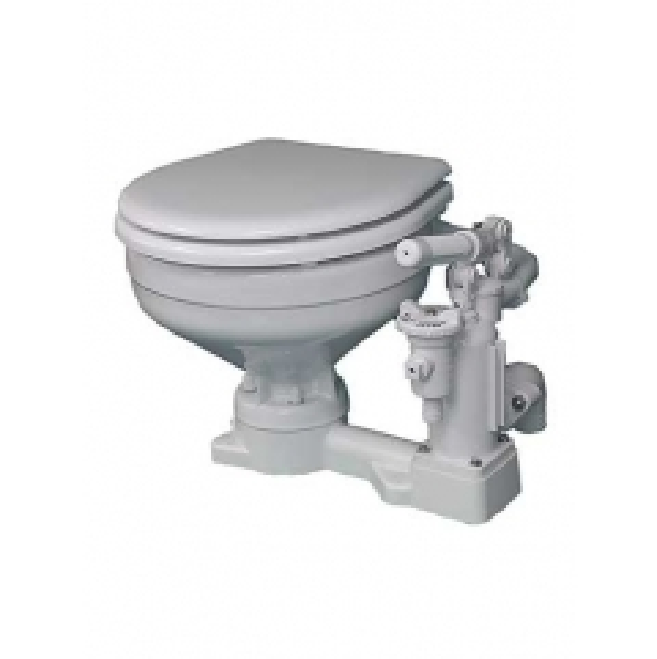 Raritan P101 PH SuperFlush Manual Toilet with Compact Bowl