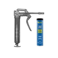 Star Brite 028703 Pistol Grip Grease Gun with Wheel Bearing Grease Cartridge - 3 oz.