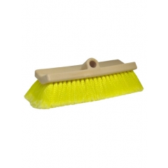 Yellow Bi-Level Big Boat Soft Bristle Wash Brush